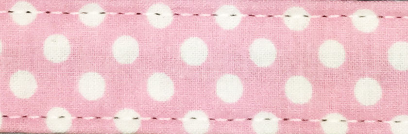 Pink Polka Dot Cotton