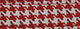 Red Houndstooth Cotton