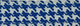 Blue Houndstooth Cotton
