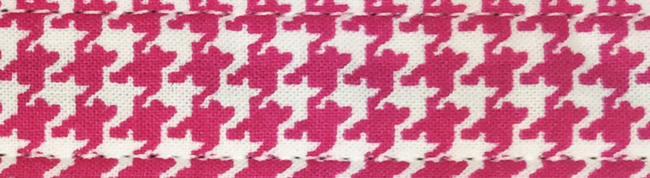 Pink Houndstooth Cotton