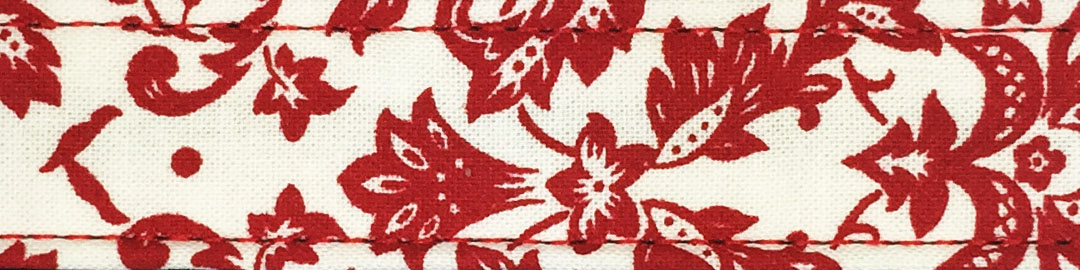 Red Damask Cotton