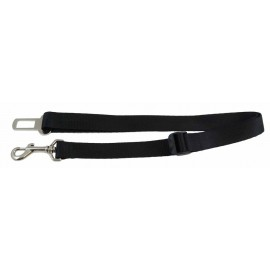 Seatbelt Restraint Adjustable Black 1 inch
